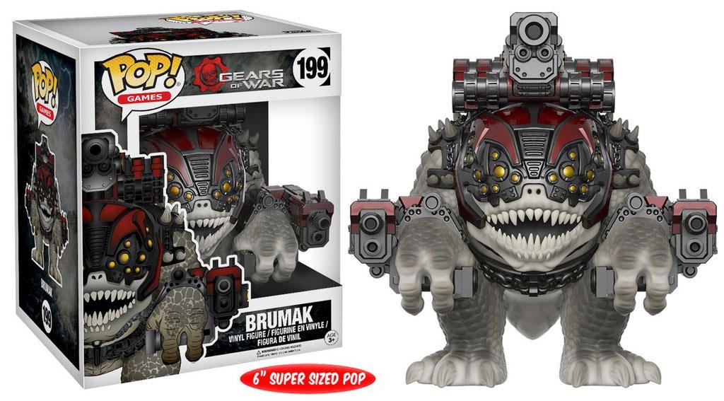 Gears of War POP! Games Vinyl Figure Brumak 15 cm
