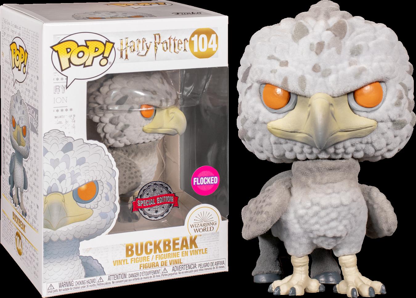 Harry Potter POP! Movies Vinyl Figure Buckbeak Flocked Limited 9 cm