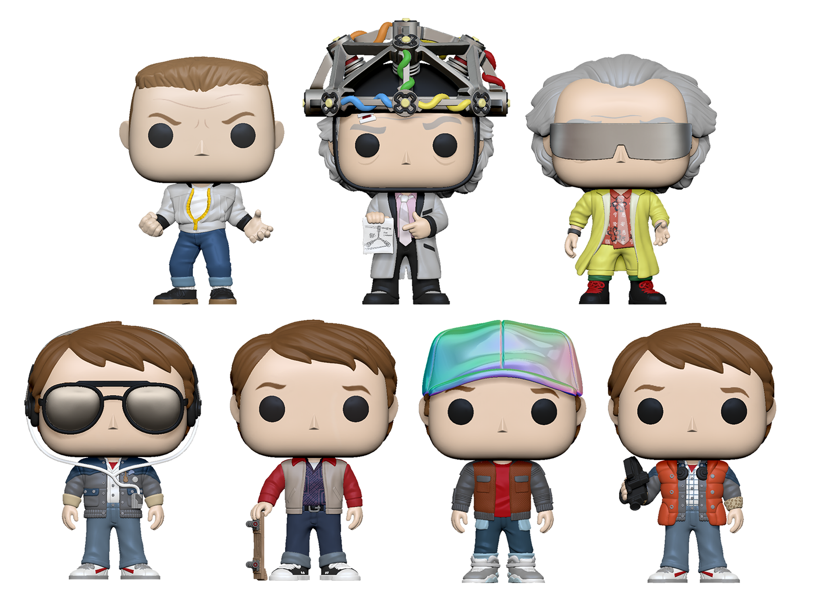Back To The Future - You Guys Aren't Ready For This Pop! Vinyl Bundle (Set of 7)