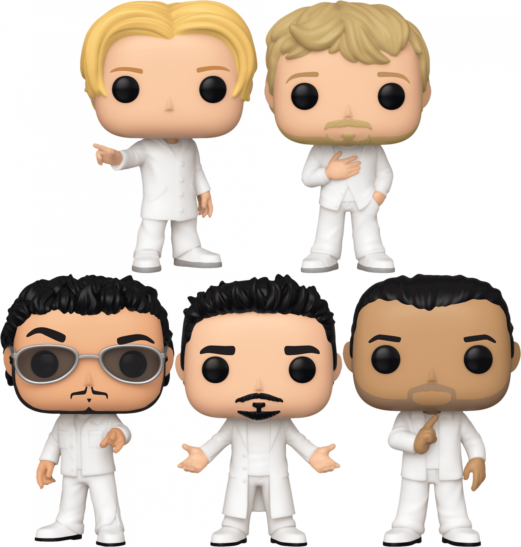 Backstreet Boys - Quit Playing Games With My Pop! Vinyl Bundle (Set of 5)