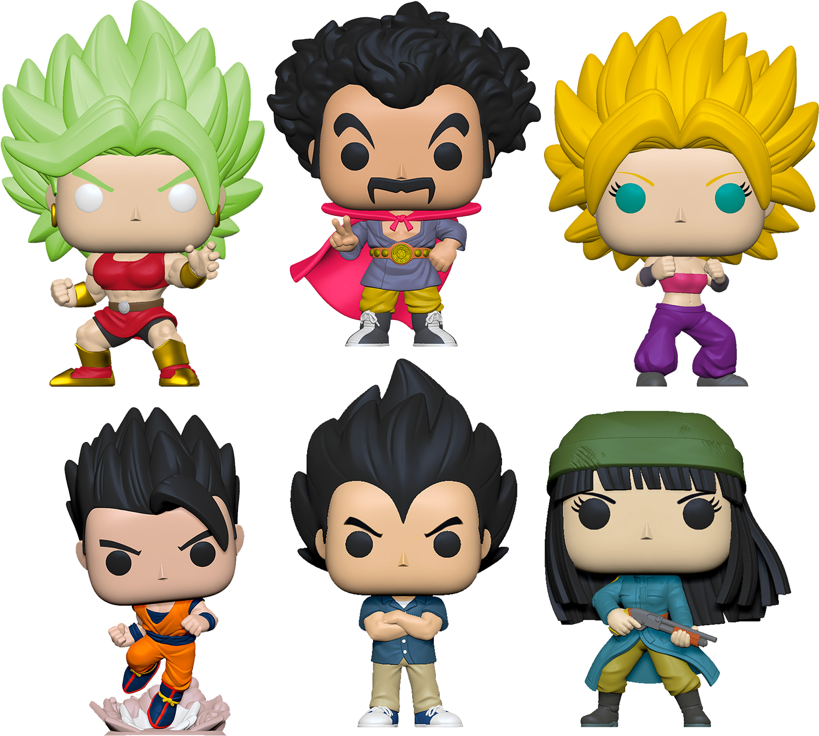 Dragon Ball Super - Mai Vegeta Pop! Vinyl Bundle (Set of 6)