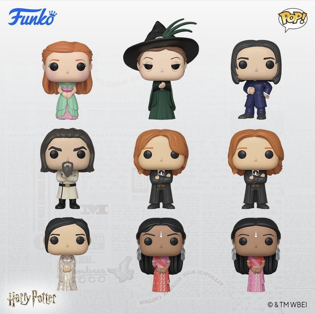 Harry Potter and the Goblet of Fire - Yule Want This Pop! Vinyl Bundle (Set of 9)