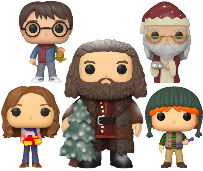 Harry Potter - A Very Harry Christmas Holiday Pop! Vinyl Bundle (Set of 5)