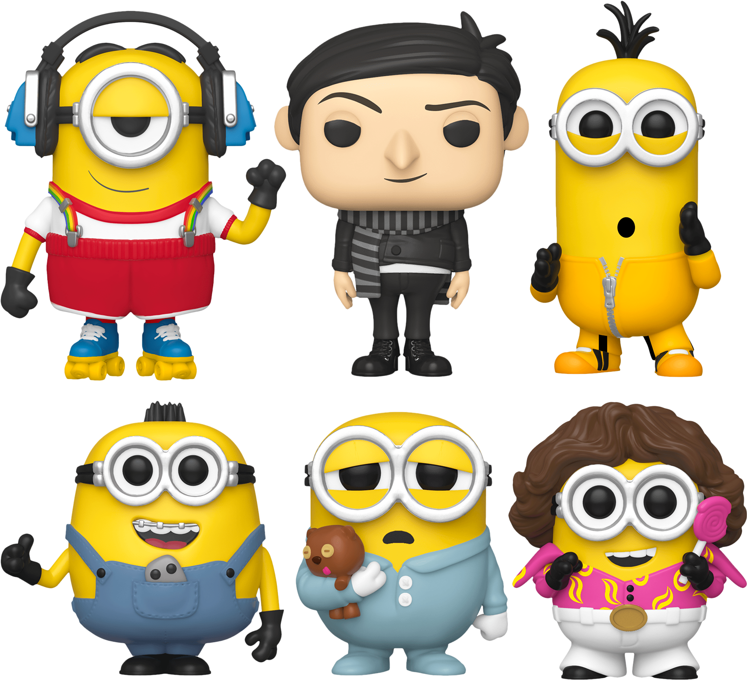 Minions 2: The Rise Of Gru - Gru Know You Want This Pop! Vinyl Bundle (Set of 6)