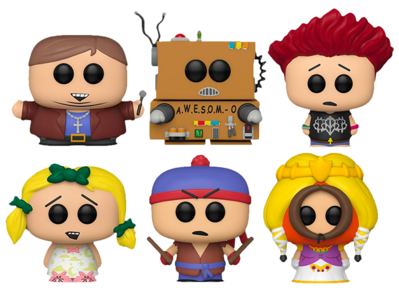 South Park - The Totally Awesom-O Pop! Vinyl Bundle (Set of 6)