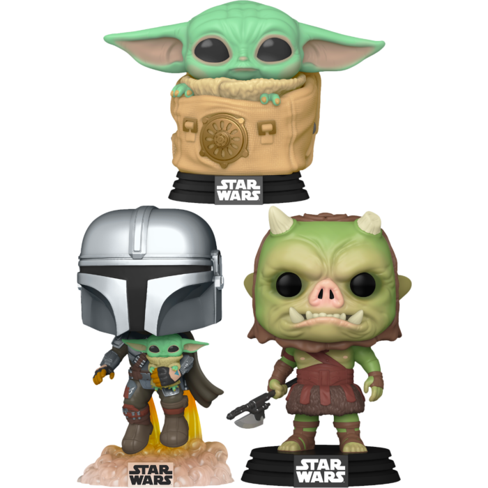 Star Wars: The Mandalorian - This Is The Pop! Vinyl Bundle (Set of 3)