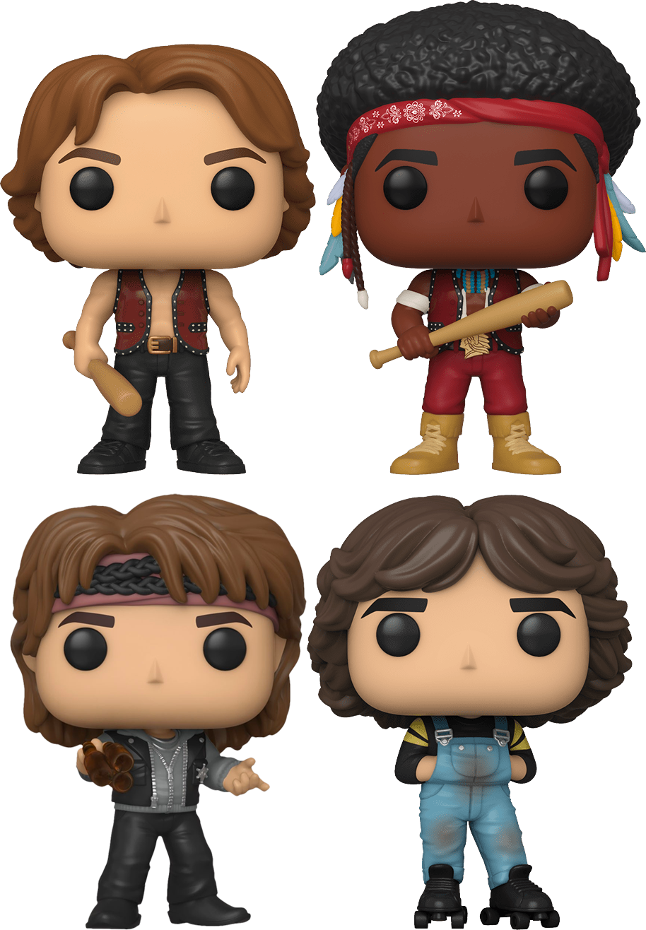 The Warriors - Come Out To Pop! Vinyl Bundle (Set of 4)