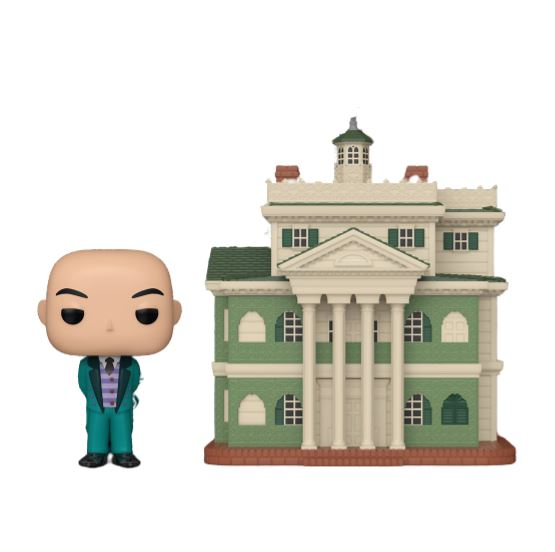 The Haunted Mansion POP! Town Vinyl Figure Butler with Haunted Mansion Limited