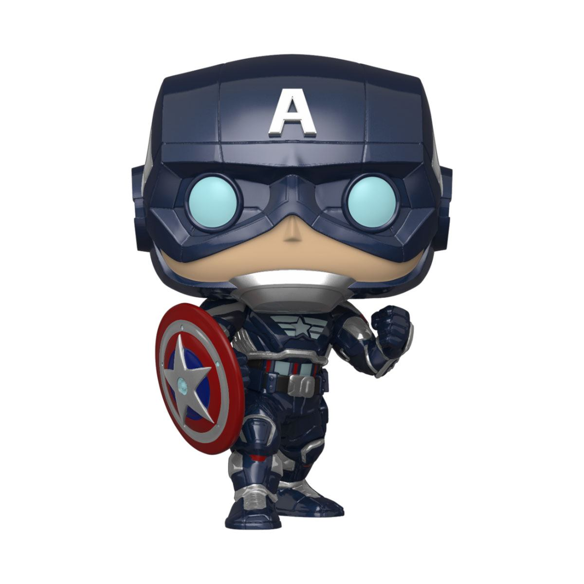 Marvel's Avengers (2020 video game) POP! Marvel Vinyl Figure Captain America 9 cm