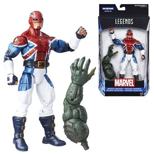 Captain America Civil War Marvel Legends Captain Britain Wave 3 2016 Action Figure