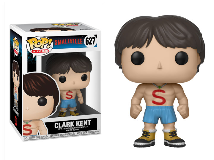 Smallville POP! TV Vinyl Figure Clark Kent Shirtless 9 cm