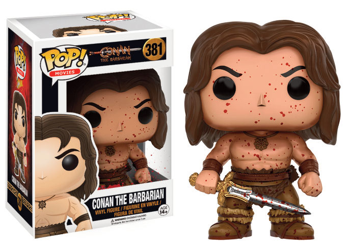 Conan the Barbarian POP! Movies Vinyl Figure Conan (Bloody) 9 cm