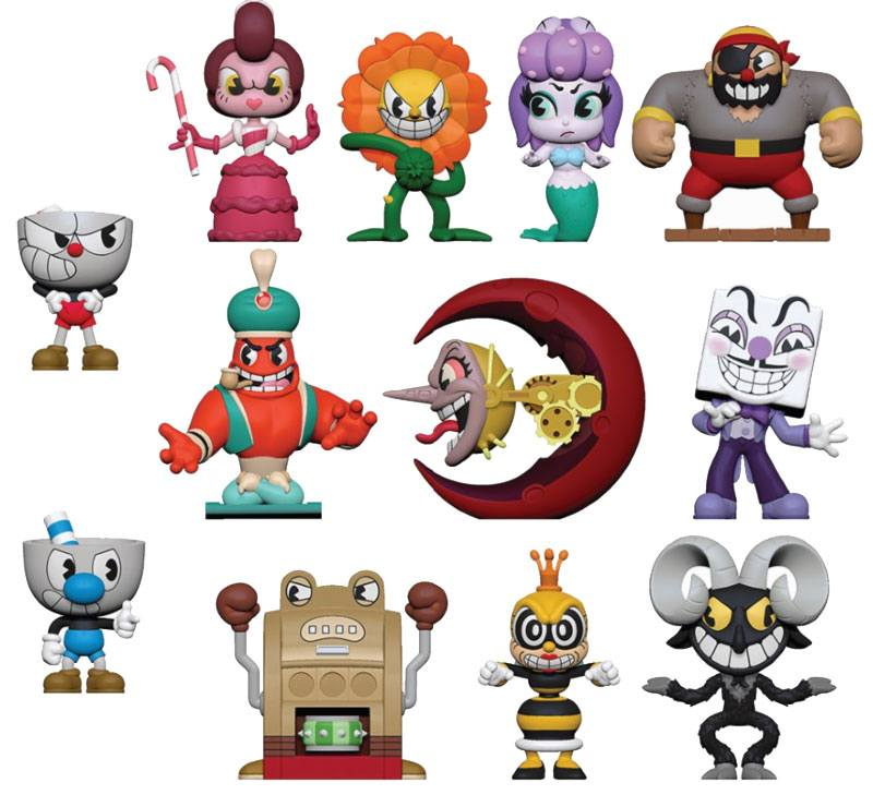 Cuphead Mystery Mini Figures 5 cm Display Series 1 (12)