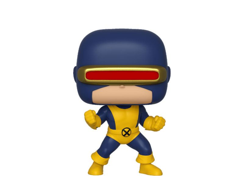 Marvel 80th POP! Heroes Vinyl Figure Cyclops (First Appearance) 9 cm