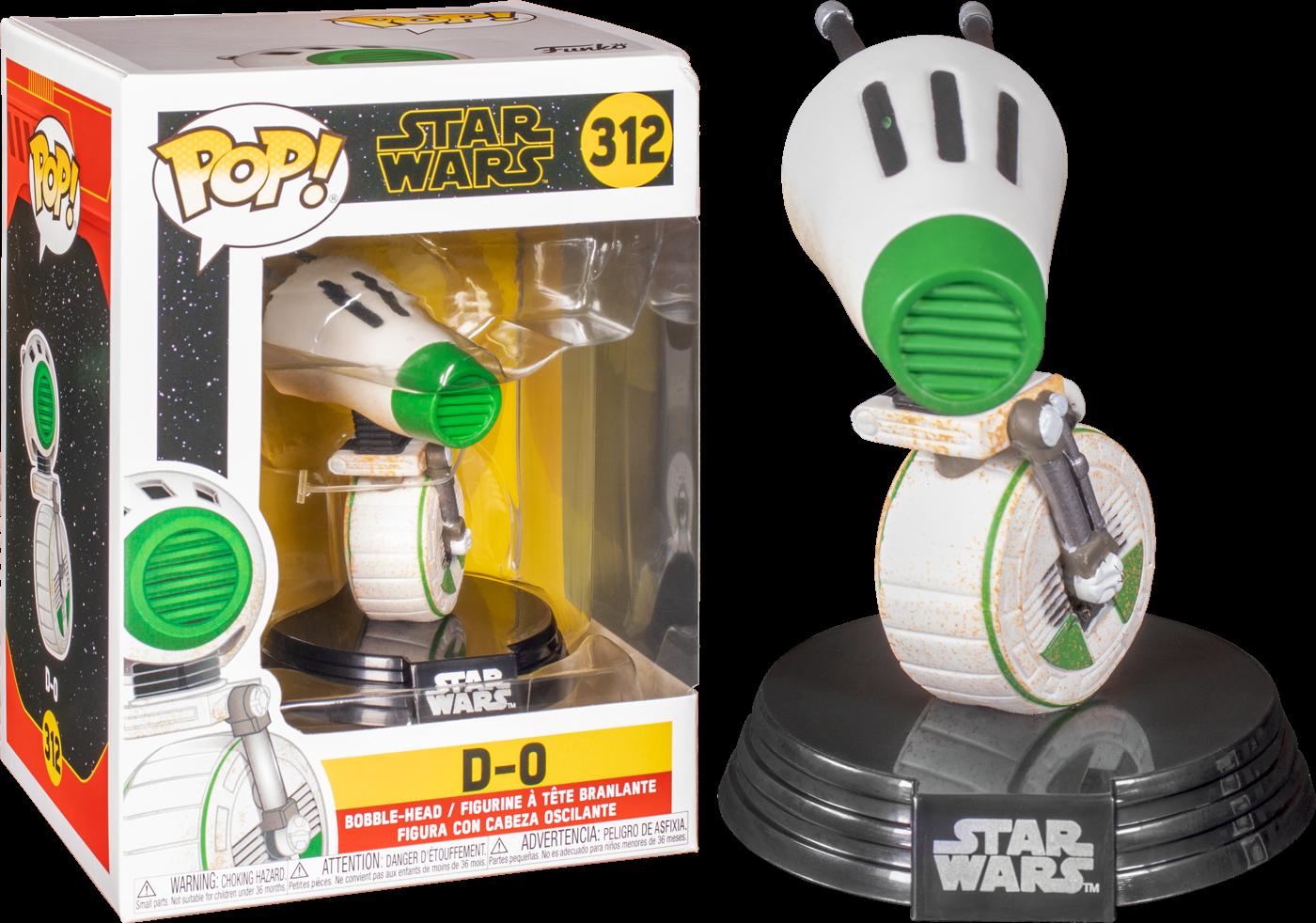 Star Wars Episode IX POP! Movies Vinyl Figure D-0 9 cm