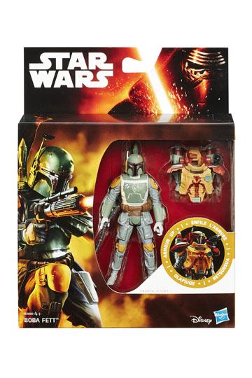 Star Wars Armor Up Boba Fett Action Figure 10 cm 2015 Wave 1