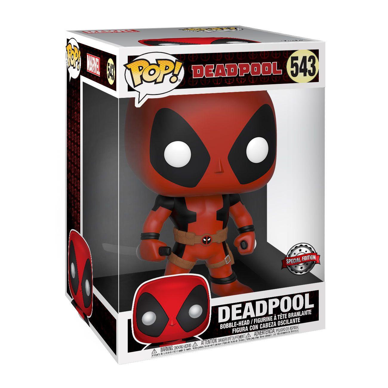 Deadpool Super Sized POP! Vinyl Figure Two Sword Red Deadpool 25 cm