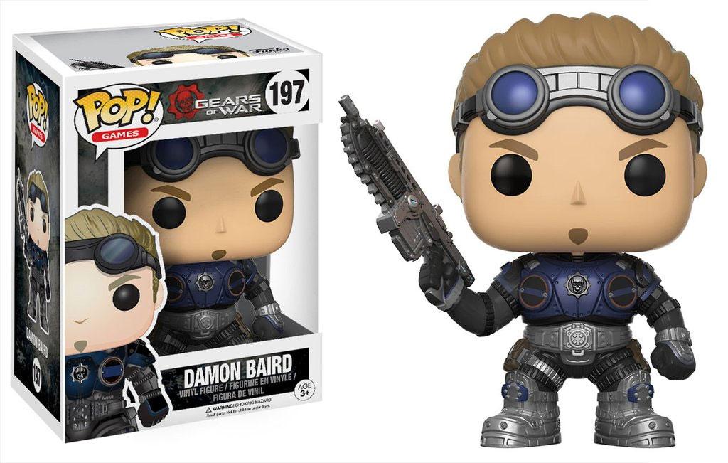 Gears of War POP! Games Vinyl Figure Damon Baird 9 cm