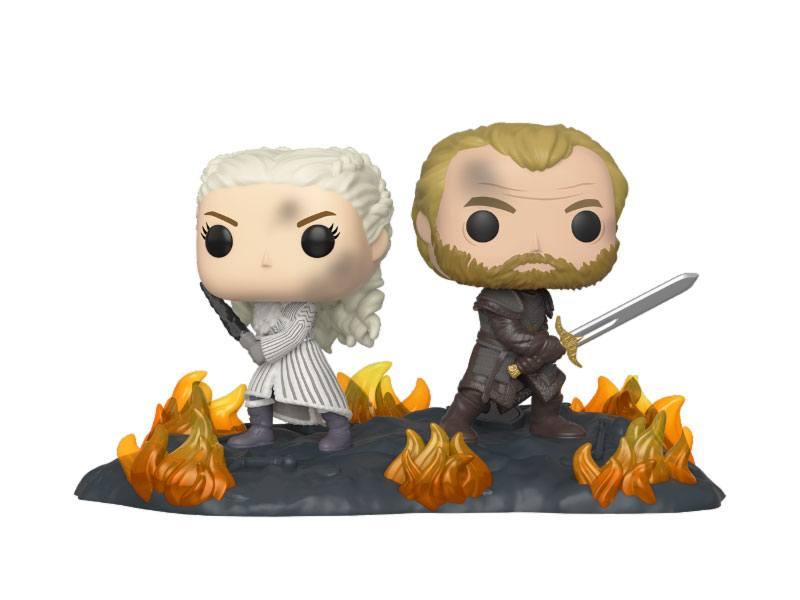 Game of Thrones POP Moment! Vinyl Figures 2-Pack Daenerys & Jorah 9 cm
