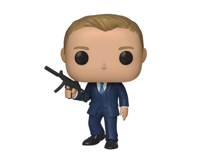 James Bond POP! Movies Vinyl Figure Daniel Craig (Quantum of Solace) 9 cm