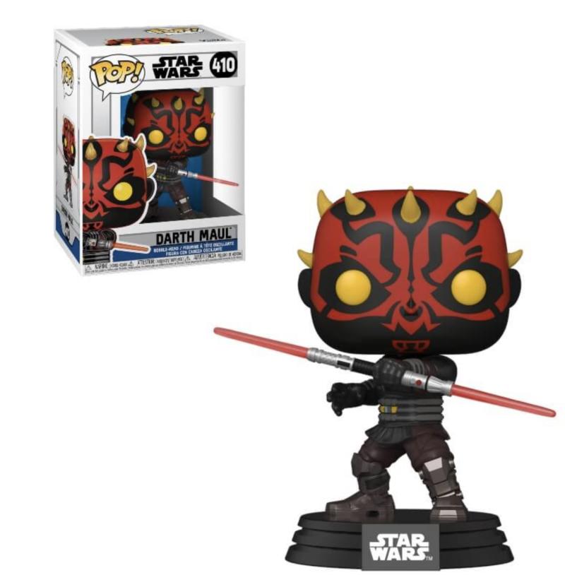 Star Wars: Clone Wars POP! Star Wars Vinyl Figure Darth Maul 9 cm