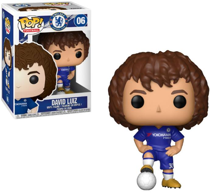 EPL POP! Football Vinyl Figure David Luiz (Chelsea) 9 cm
