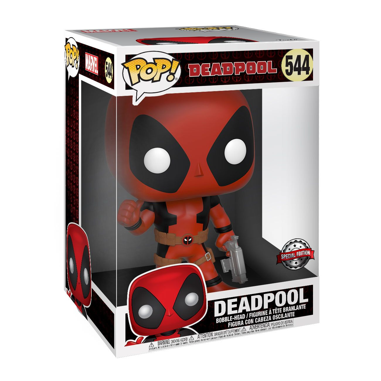 Deadpool Super Sized POP! Vinyl Figure Thumb Up Red Deadpool 25 cm