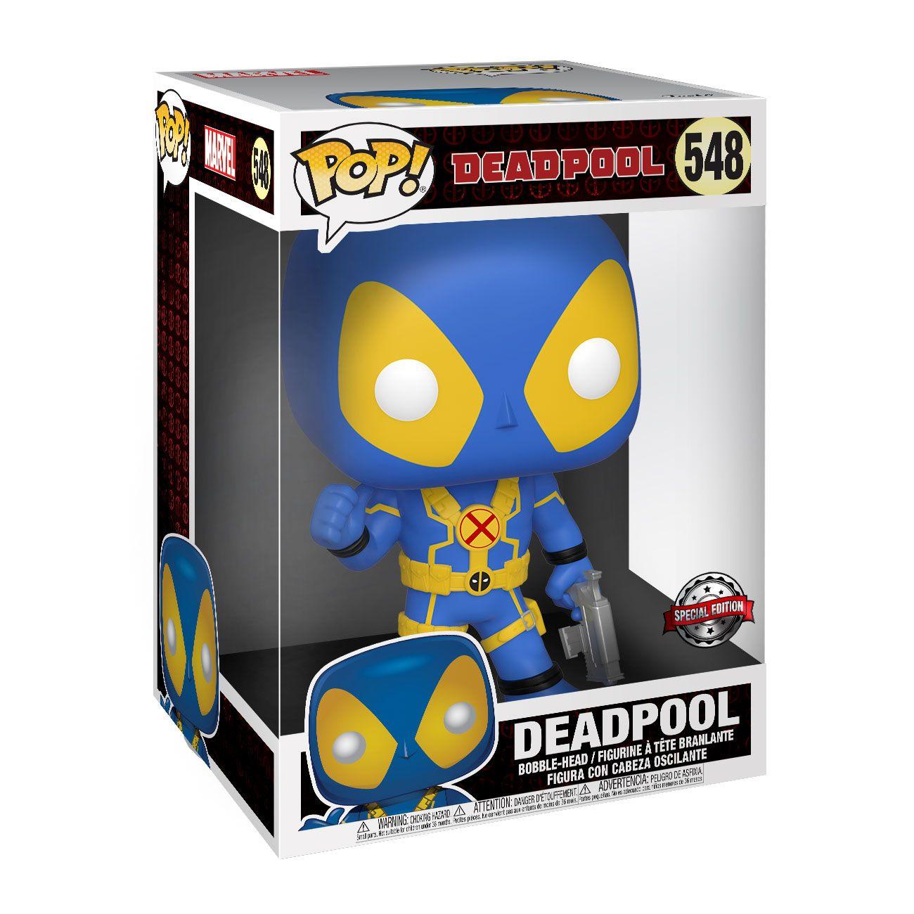 Deadpool Super Sized POP! Vinyl Figure Thumb Up Blue Deadpool 25 cm