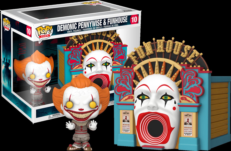 It Chapter 2 POP! Movies Vinyl Figure Demonic Pennywise & Funhouse 9 cm
