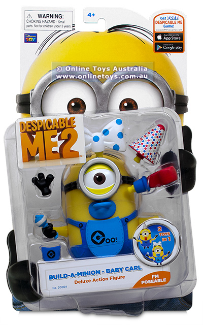 Despicable Me 2 Deluxe Action Figure Baby Carl