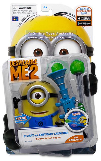 Despicable Me 2 Deluxe Action Figure Minion Stuart