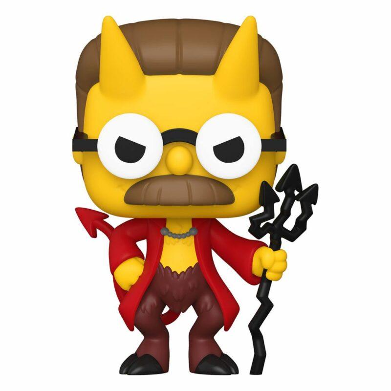 Simpsons POP! Animation Vinyl Figure Devil Flanders 9 cm