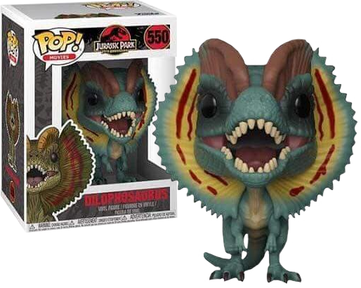 Jurassic Park - Movie Pop! Vinyl Figure Dilophosaurus 9 cm