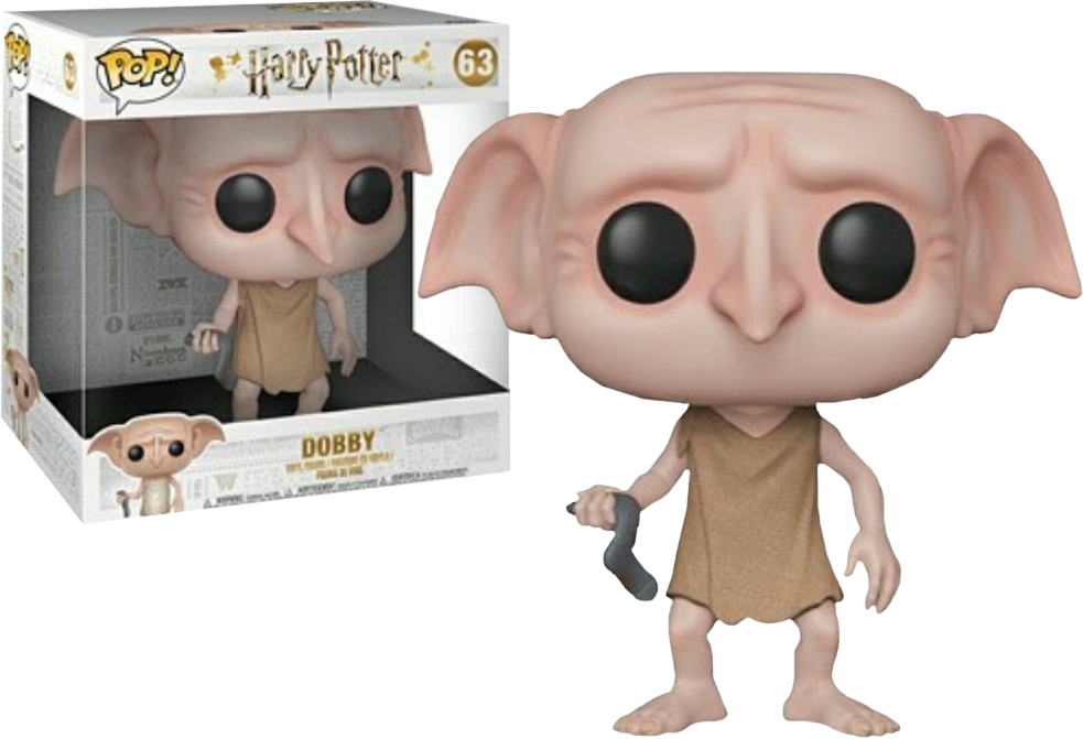 Harry Potter POP! Movies Vinyl Figure Dobby Limited Edition 25 cm (con bollino Forbidden Planet Exclusive)