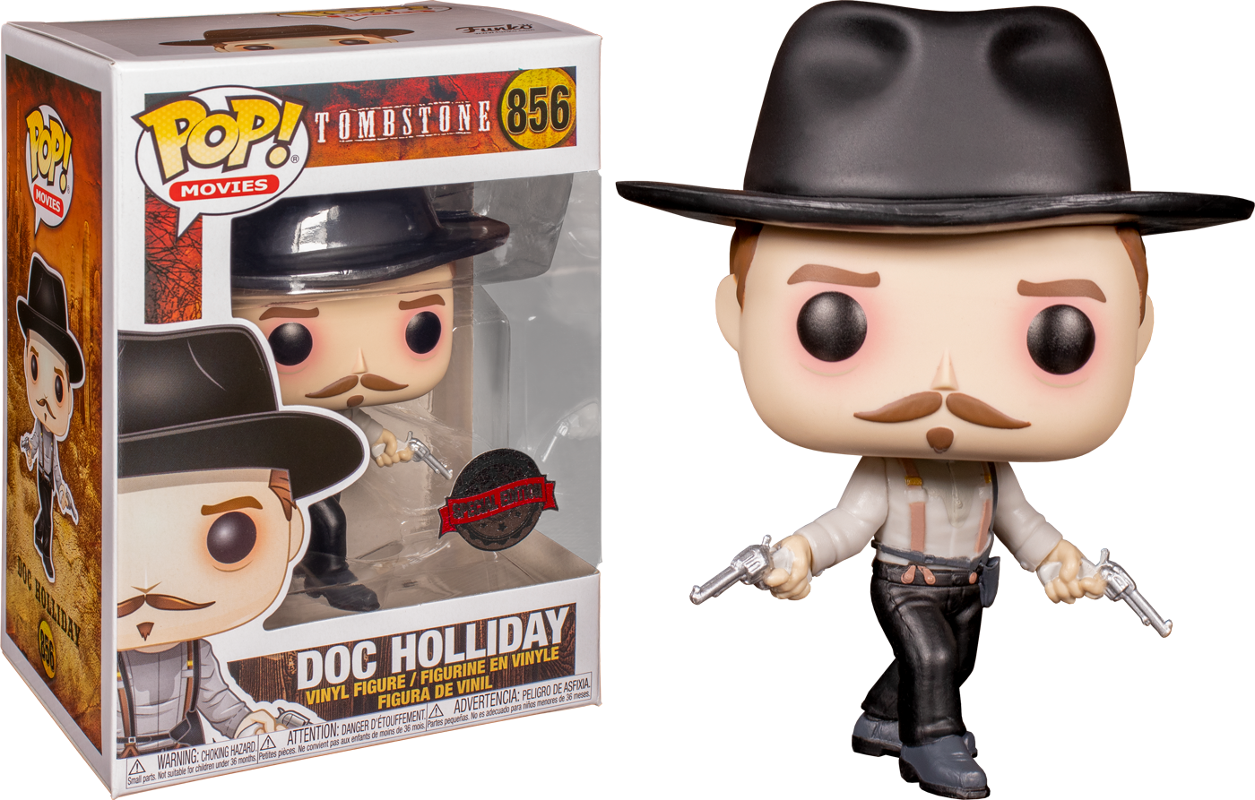 Tombstone POP! Movies Vinyl Figure Doc Holliday Limited 9 cm