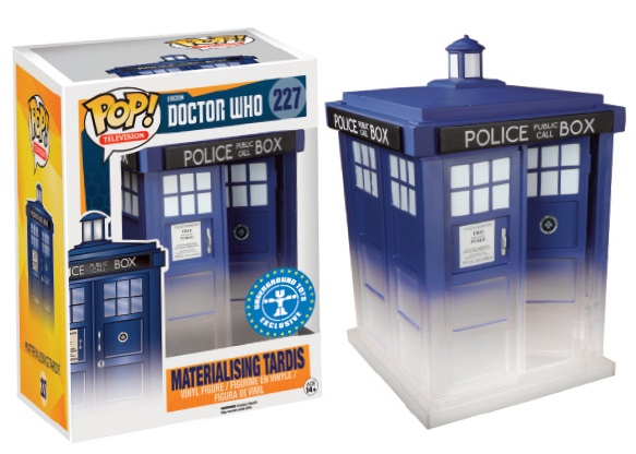 Doctor Who POP! Television Vinyl Figure Materialising Tardis 15 cm Exclusive Edition
