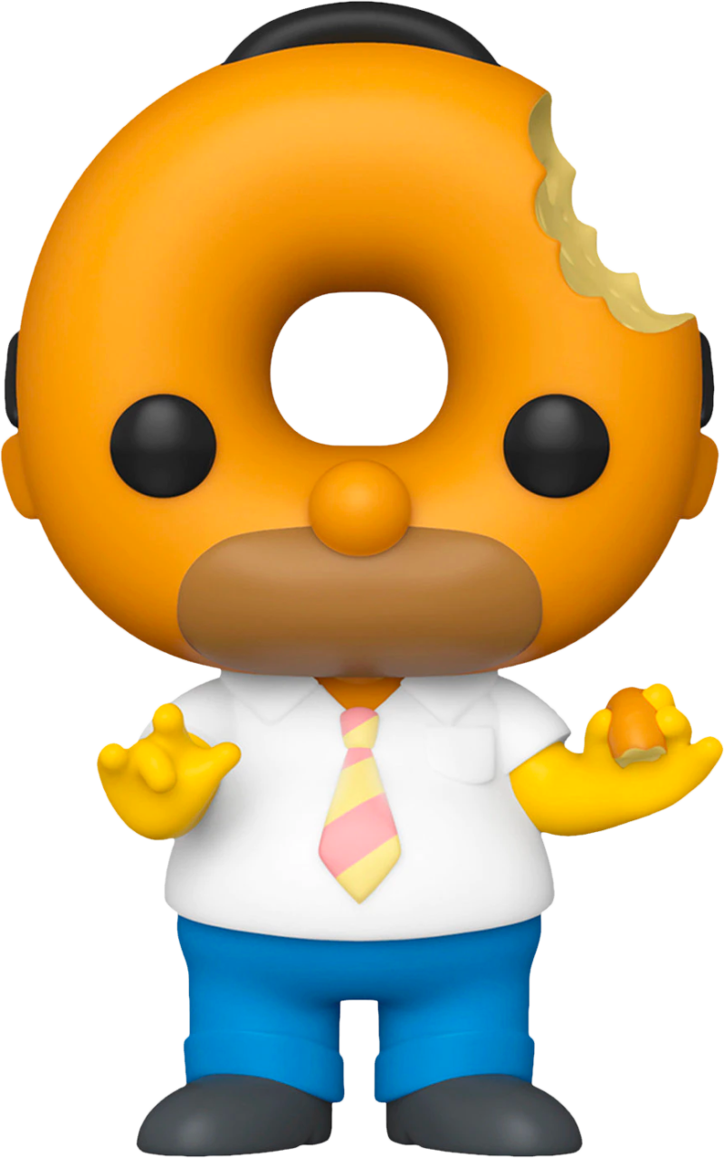The Simpson POP! Animation Figure Donut Head Bart Limited 9 cm