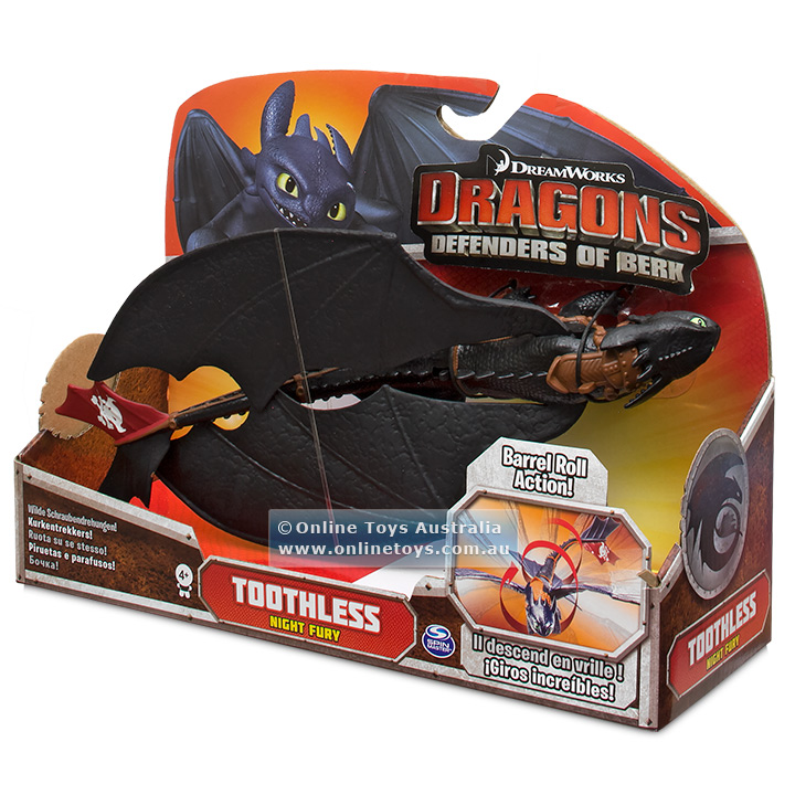 Dragon Trainer Toothless 3 Serie Defenders of Berk