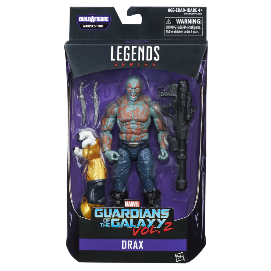 Guardians of the Galaxy Marvel Legends Action Figures 15 cm Drax Wave 1