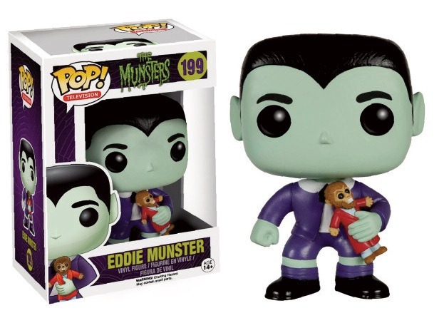 The Munsters POP! Television Vinyl Figure Eddie Munster 9 cm