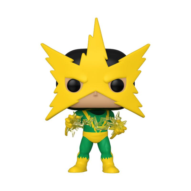 Marvel 80th POP! Disney Vinyl Figure Speciality Series Electro (First Appearance) 9 cm