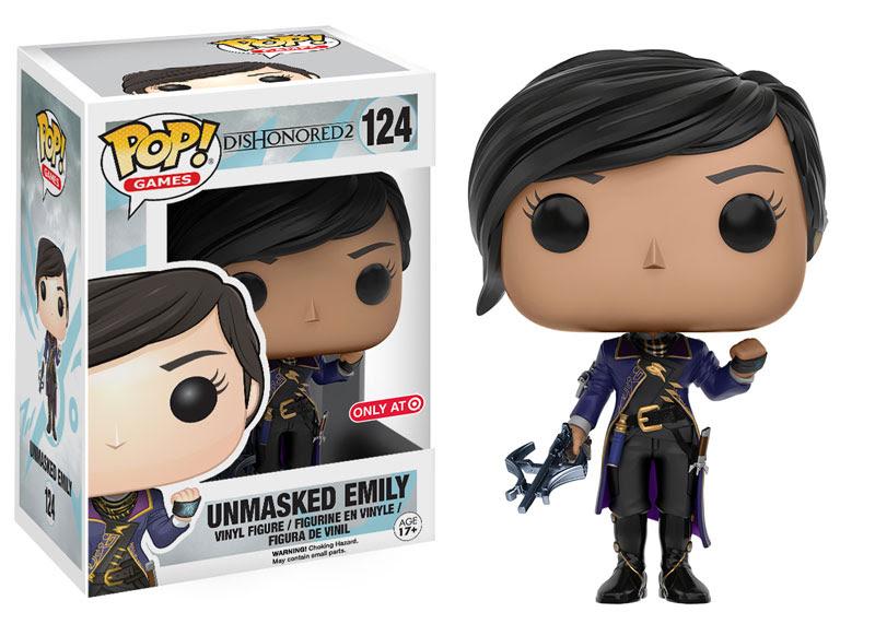 Dishonored 2 POP! Games Vinyl Figure Unmasked Emily 9 cm