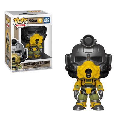 Fallout 76 POP! Games Vinyl Figure Excavator Power Armor 9 cm