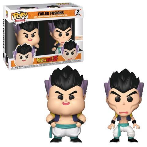 Dragonball Z! 2-pack Vinyl Figures Failed Fusions Limited 9 cm (con bollino Exclusive)