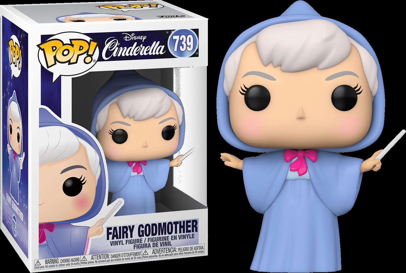 Cinderella POP! Movies Vinyl Figure Fairy Godmother 9 cm