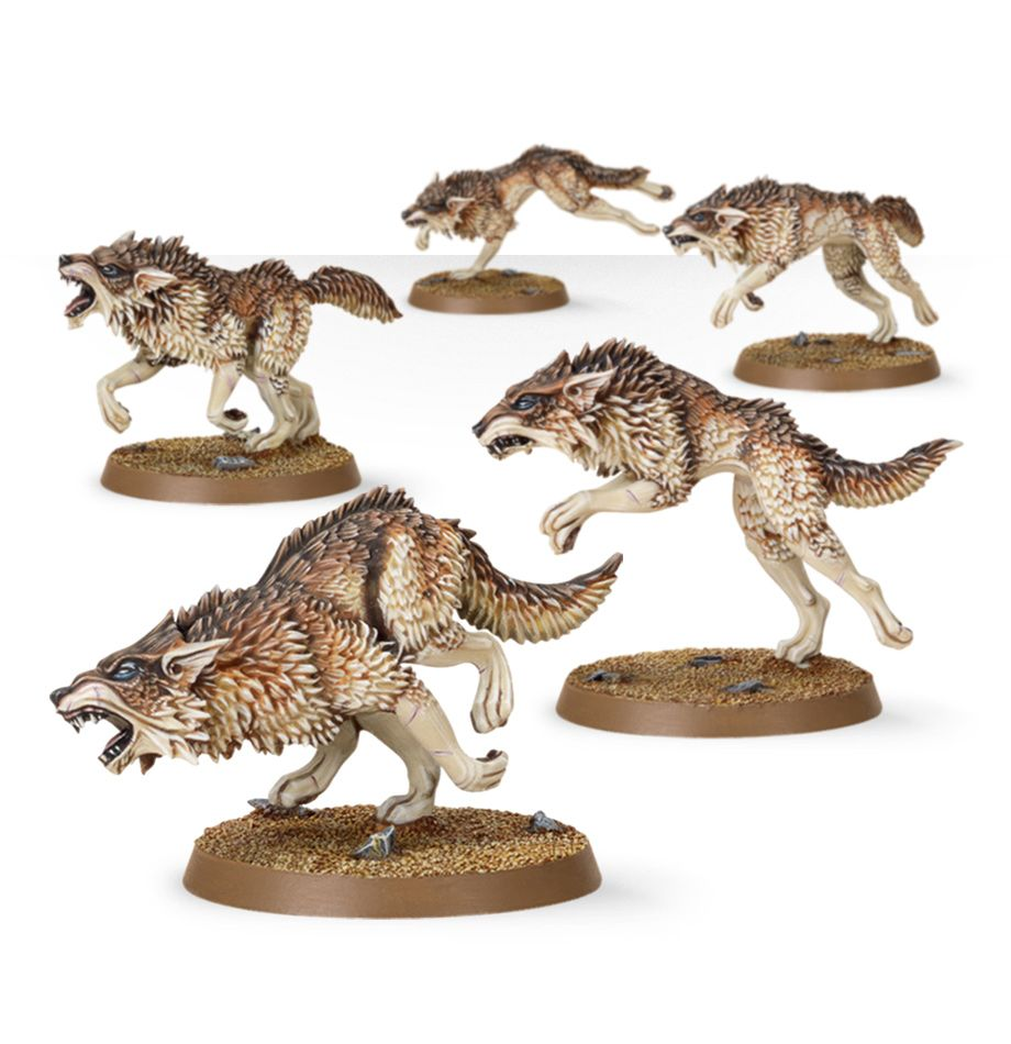 Space Wolfes Fenrisian Wolf Pack