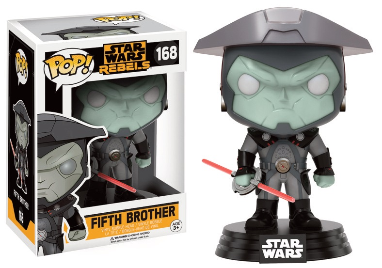 Star Wars Rebels POP! Vinyl Bobble-Head Figure Fifth Brother 9 cm