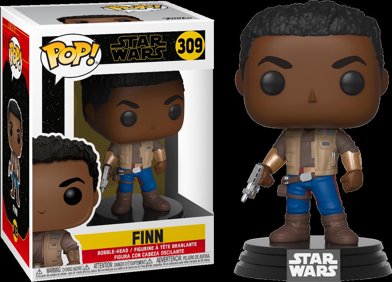 Star Wars Episode IX POP! Movies Vinyl Figure Finn 9 cm