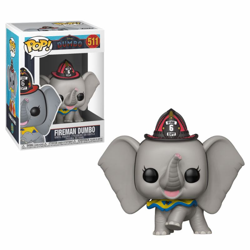 Dumbo POP! Disney Vinyl Figure Fireman Dumbo 9 cm
