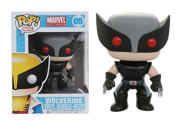 Marvel Comics POP! Vinyl Bobble-Head Wolverine X-Force Costume Exclusive 10 cm